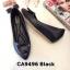 รองเท้าคัทชู ส้นเตารีด แต่งอะไหล่เรียบเก๋ ทรงสวย หนังนิ่ม ส้นสูงประมาณ 2 นิ้ว ใส่สบาย แมทสวยได้ทุกชุด (CA9496) thumbnail 1
