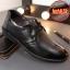 พรีออเดอร์ รองเท้าหนัง เบอร์ 38-48 แฟชั่นเกาหลีสำหรับผู้ชายไซส์ใหญ่ เก๋ เท่ห์ - Preorder Large Size Men Korean Hitz Sandal thumbnail 6