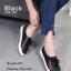 รองเท้าคัทชู ทรงผ้าใบ หนังฉลุลายน่ารัก แต่งเชือกผูกสไตล์วินเทจที่ยังคงความคลาสสิค ส้นยางกันลื่นหนา 0.5 ซม. ใส่สบาย แมทสวยได้ทุกชุด (345-106) thumbnail 3