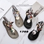 รองเท้าแตะแฟชั่น รัดข้อ งานนำเข้า summer collection สุดเก๋ รองเท้าเล่นน้ำสงกรานต์ หรือเที่ยวทะเล ต้องไม่พลาด ซิลิโคนยาง แบบใหม่ล่าสุด สไตล์ jelly shoes ซิลิโคนนิ่มแบบหูคีบผูกผ้าได้ตามสไตล์ พื้นยางกันลื่น ทนแดดทนฝน สวยแบบไม่กลัวเปียก สีดำ เทา แมทสวยได้ทุกช thumbnail 7