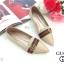รองเท้าคัทชู ส้นแบน แต่งคาดแถบสีอะไหล่ GG สไตล์กุชชี่ หนังนิ่ม ทรงสวย ใส่สบาย แมทสวยได้ทุกชุด (P-223) thumbnail 1