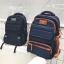 กระเป๋าเป้สะพายหลังสารพัดประโยชน์ สวย ทน เท่ห์ คุณภาพชั้นนำเป็นที่ยอมรับระดับสากล High-quality large-capacity business travel bag shoulder bag personalized leisure backpack men's high school computer bag thumbnail 5