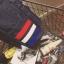 Back pack(กระเป๋าเป้ สะพายหลัง) BA080 สีดำ พร้อมส่ง thumbnail 3