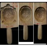 พิมพ์ขนมเต่า ไม้แกะศิลปะจีน -