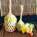 Be Snack Durian Toffy ท๊อฟฟี่ทุเรียนใส่ชะลอม ไซส์เล็ก (S) 30 บาท