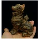 สิงห์ไม้แกะสลัก ขนาดเล็ก(2)
