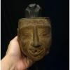 หัวหุ่นไม้ งานเก่า ศิลปะพม่า