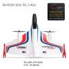 เครื่องบิน XK X520 3D/6G มอเตอร์บลัสเลสคู่ 2.4G 6CH 5G Takeoff And Landingใช้พื้นที่น้อย 100km/h