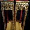 ตั่งหรือโต๊ะลายไทย งานเก่า 25x51x95cm