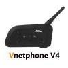 Vnetphone วิทยุสื่อสาร บลูทูธติดหมวกกันน็อค อินเตอร์คอม V4