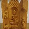 ไม้แกะสลัก ตลับพระศิลปะพม่า(2)