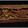 แผ่นไม้แกะสลักศิลปะจีน เล็ก