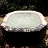 Intex PureSpa Jet Massage อ่างน้ำวน ระบบเกลือบำบัดน้า ขนาด 180 ซม. ลึก 71 ซม.