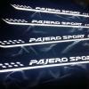 ชายบันไดมีไฟ New Pajero Sport 2016 (แสงสีขาว)