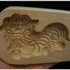 พิมพ์ขนมคุกกี้ไม้แกะ ลายสิงโตจีน