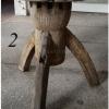 เก้าอี้หรือโต๊ะดุมล้อเกวียน งานเก่า(ตัวที่2) สูง 50 cm.
