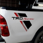 สติ๊กเกอร์ TRD VIGO (แท้)