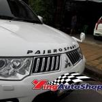 ตัวอักษร Pajerosport (ดำด้าน)