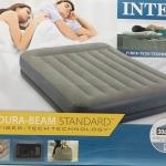 Intex ที่นอนเป่าลม 64118 ปั้มไฟฟ้าในตัว ขนาด 152х203х30 см.