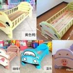 เตียงนอนเด็กลายการ์ตูน ใช้เป็นเตียงนอนเสริมสำหรับเด็ก
