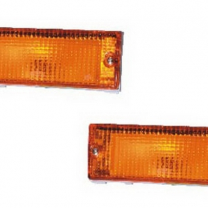 02-236 R/L Amber Front Direction Indicator Lamp, Amber Lens