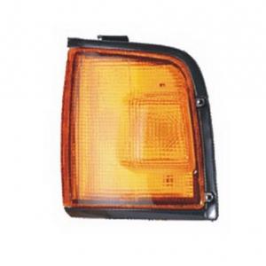 03-332 R/L Amber, Black Side Direction Indicator Lamp, Amber Lens, Black Housing