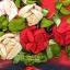 งานปักริบบิ้นรูปดอกกุหลาบในแจกันสุดหรู by Easy DIY ครอสติสคริสตัล thumbnail 2
