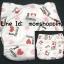 (แพ็ค 3 ตัว+แผ่น 3 แผ่น) กางเกงผ้าอ้อมกันน้ำ One Size (กระดุม) เอวปรับระดับได้ พร้อมแผ่นซับฉี่ไมโครไฟเบอร์ ไซส์แรกเกิด - 15 กก. thumbnail 10