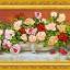งานปักริบบิ้นรูปดอกกุหลาบในแจกันสุดหรู by Easy DIY ครอสติสคริสตัล thumbnail 1