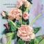 งานปักริบบิ้นรูปแจกันดอกกุหลาบสีหวาน By Easy DIY ครอสติสคริสตัล thumbnail 2