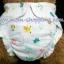 (แพ็ค 6 ตัว+แผ่น 6 แผ่น) กางเกงผ้าอ้อมสาลู รุ่น ขอบขา-เอวจั๊ม มีช่องสำหรับใส่แผ่นรองซับ ( แผ่นซับถอดแยกซักได้) ไซด์แรกเกิด - 1 ขวบ คละสี คละลาย thumbnail 5