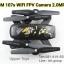 โดรน DM107S 2.4GHz 6-Axis Gyro Wi-Fi FPV กล้อง 2.0MP HD Camera thumbnail 6