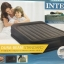 Intex Unisex Queen Deluxe Raised P 64136 Air Bed, Grey/Light Grey 152x203x42 thumbnail 2