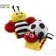 สายรัดข้อมือเสริมพัฒนาการสำหรับเด็ก เขย่ามีเสียง รูปผึ้ง (แพ็ค 1 ชิ้น) thumbnail 1