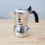 Bialetti หม้อต้มกา แฟสด รุ่น Brikka ขนาด 2 cup (สีเงิน)