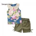 SG450- เสื้อ+กางเกง 5 ตัว/แพค ไซส์ 90-130