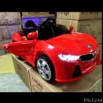 BMWi8sport (ต่อmp3, 1มอเตอร์1แบตใหญ่, มีโช้ค, เปิดประตูได้, มีระบบกดบังคับจากเท้าหรือรีโมท, ไฟเท่ส์สมจริง)
