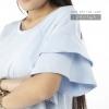 เสื้อให้นม Phrimz : Sophie Breastfeeding Top - Blue สีฟ้า