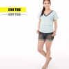 เสื้อให้นม Phrimz : Jasmine Breastfeeding Top - Blue