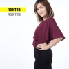 เสื้อให้นม Phrimz : Ivie Breastfeeding Top - Deep Red