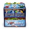 Delta Disney Planes Multi-Bin Toy Organizer, Blue ชั้นใส่ของเล่นลายเครื่องบินดีสนีย์ นำเข้าจาก USA