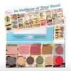 The balm NUDE eyeshadow palette เซตเเต่งหน้ารวมคอลเลคชั่นสุดฮิตของเดอะบาล์มทั้งหมดไว้ในหนึ่งเดียว ปัดเเก้ม+บลอนเซอร์+ทาตา+ลิป ราคา 270 บาท