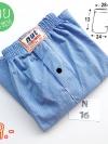 boxerผู้ชายสีฟ้า ร้านขายกางเกงในบ๊อกเซอร์สีฟ้า