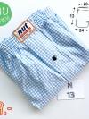 กางเกงในบ๊อกเซอร์สีฟ้า รูปบ๊อกเซอร์ชายสีฟ้า