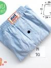 ร้านขายบ๊อกเซอร์สีฟ้าอ่อน กางเกงบ๊อกเซอร์ผู้ชายทรงเกาหลี