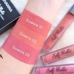 sivanna soft matte lip cream ลิปจุ่มเนื้อเเมทสีสวยติดทนกันน้ำ 1เซต 3เเท่ง ราคา 170 บาท #เครื่องสำอางราคาถูก #เครื่องสำอางแบรนด์เนม #ขายส่ง #beautyact #เครื่องสำอาง #ขายส่งราคาถูก #เครื่องสำอางค์แบรนด์ #sivannalip #softmatte #lipcream #sivannacolors #ขายส่