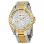 นาฬิกาผู้หญิง Fossil รุ่น ES3204, Riley Multifunction