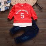 SY73-เสื้อ+กางเกง 4 ตัว/แพค ไซส์ 80-110