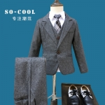 ST66-เสื้อ+กางเกง+เสื้อกั๊ก 6 ชุด /แพค ไซส์ 90-140