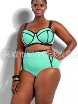 ชุดว่ายน้ำคนอ้วนพร้อมส่ง :ชุดว่ายน้ำทูพีชสีเขียว แต่งลายผ้าตัดขอบสีดำสีสดใสน่ารักมากๆจ้า:มี Size:XL,2XL,3XL,4XL รายละเอียดไซส์คลิกเลยจ้า
